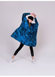 Regenponcho Rainkiss Blue Bubbles