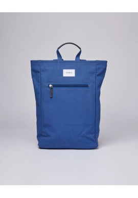 Rucksack Sandqvist Tony Blue with Blue Leather
