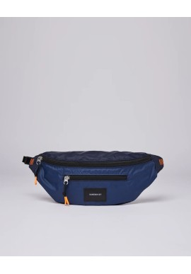 Hip Bag Sandqvist Aste Lightweight Navy Blue/Evening Blue