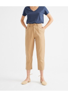 Hose Thinking Mu Rhino Hemp Pants Camel