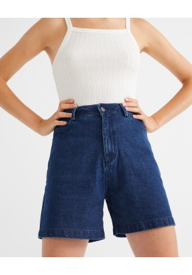 Jeans Shorts Thinking Mu Gardenia Hemp Denim