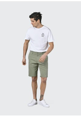 Chino-Shorts Klitmøller Collective Magnus Pale Green