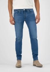Herren-Jeans Mud Jeans Regular Dunn Stretch Pure Blue