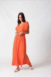Kleid SKFK Estebeni Orange