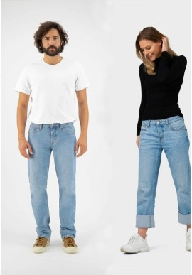 Unisex-Jeans Mud Jeans Relax Fred Heavy Stone