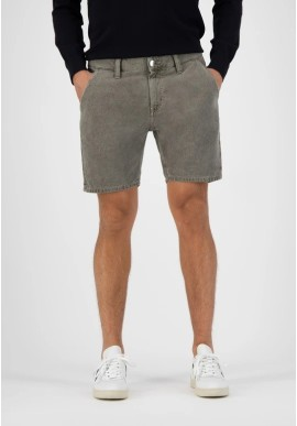 Jeans-Shorts Mud Jeans Luca Short Olive