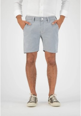 Jeans-Shorts Mud Jeans Luca Short Undyed