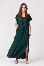 Kleid SKFK Estebeni Dark Green