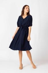 Kleid SKFK Nahikari Dress Navy