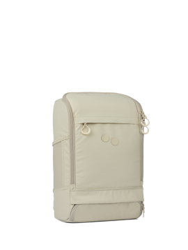 Rucksack pinqponq Cubik Medium Backpack Chalk Beige