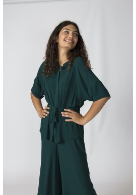 Bluse SKFK Oria Shirt Dark Green