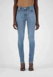 Damenjeans Mud Jeans Skinny Hazen Fan Stone