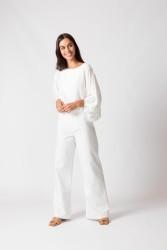 Bluse SKFK Lenore Shirt White