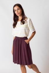 Rock SKFK Luzaide Skirt Purple