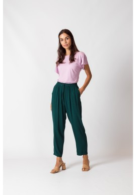 Hose SKFK Albia Trousers Dark Green