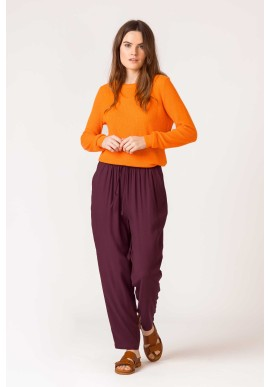 Hose SKFK Albia Trousers Purple