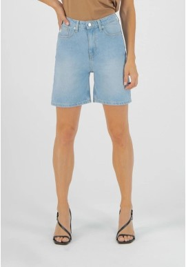Jeans-Shorts Mud Jeans Beverly Short Sun Stone