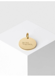 "Schlüsselanhänger Yoomee Key Tag ""Better Together."" Gold"