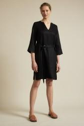 Kleid mit Gürtel Lanius Black