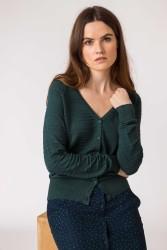 Cardigan SKFK Betti Sweater Dark Green