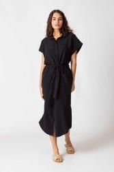 Kleid SKFK Katina Dress Black