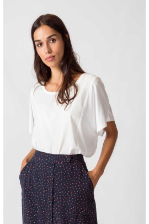 T-Shirt SKFK Zoila Shirt Polar White