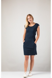 Damenkleid ZRCL Basic blue