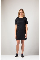 Damenkleid ZRCL Basic Ella Black