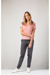 Damen Raglan T-Shirt ZRCL Basic Old Rose