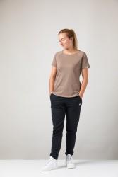 Damen Raglan T-Shirt ZRCL Basic Brown Melange