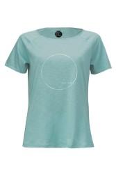 Damen Raglan T-Shirt ZRCL Basic Teal