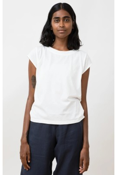 T-Shirt Jungle Folk Isla Top white