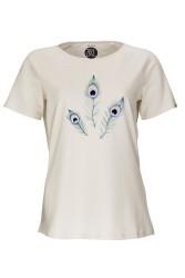 Damen Raglan T-Shirt ZRCL Peacock Natural