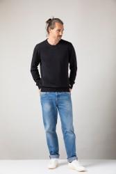 Knit Sweater ZRCL Round Neck black