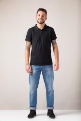 Polo-Shirt ZRCL Basic black