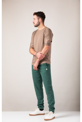 Herren-T-Shirt ZRCL Basic Brown Melange