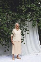 Bluse Beaumont Organic Naomi-May Shirt Cream