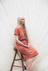 Kleid Beaumont Organic Marissa Dress Clay