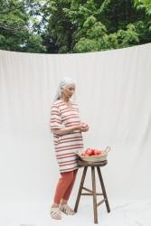 Kleid Beaumont Organic Sasha-Sue Dress Beige & Clay