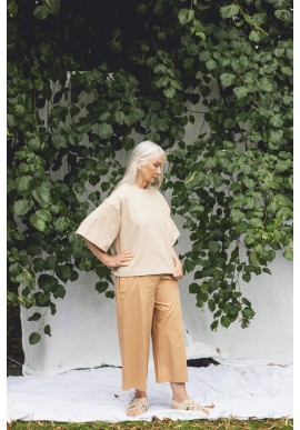 Hose Beaumont Organic Adrienne Trousers Camel