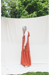 Maxi-Kleid Beaumont Organic Priya Dress Clay