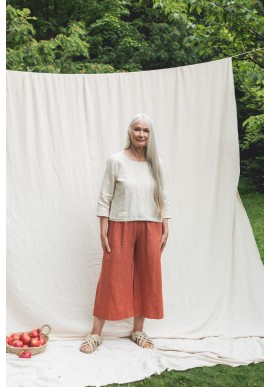 Hose Beaumont Organic Nicole-May Trousers Clay