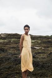 Kleid Beaumont Organic Mulberry Dress Gold