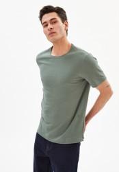 T-Shirt Armedangels Aantonio Linen Agave