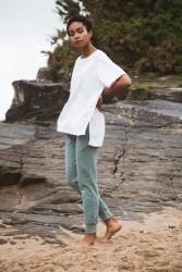 Hose Beaumont Organic Zadie Trousers Ocean