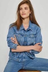 Denim-Jacke Kuyichi Chelsea Jacket Vintage Blue Light Blue