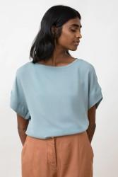 T-Shirt Jungle Folk Emily Top Swedish Blue