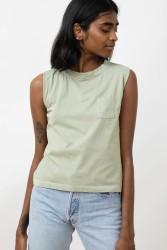 Shirt Jungle Folk Lima Top Almond Green