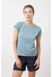 T-Shirt Jungle Folk Isla Top Swedish Blue