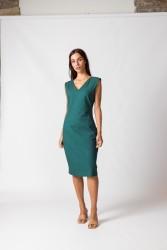 Kleid SKFK Zerua Dress Dark Green